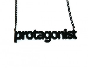 protagonist necklace
